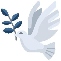 LesPompesFunèbres.com icône colombe Les Pompes Funèbres.com icône conseiller funéraires obsèques